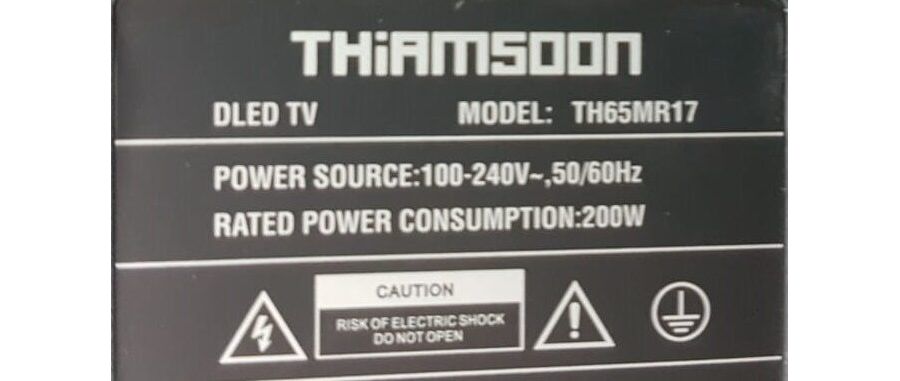 THIAMSOON TH65MR17 CV338H-A FIRMWARE